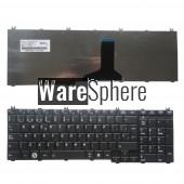 Spanish SP Teclado keyboard for Toshiba Satellite C660D L650D L670D L750D L770 BLACK