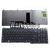 US laptop keyboard for Toshiba Satellite Pro L500D X200 X205 P300D P305 P305D P500 P500D Tecra A11 Black