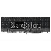 dell latitude E5520 E6520 Precision M4600 M6600 keyboard black t1pyt