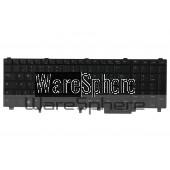 dell latitude E5520 E6520 Precision M4600 M6600 backlit keyboard black vr9rc