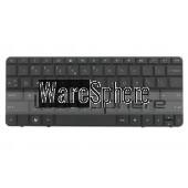 Keyboard for HP Mini 110-1103 MP-09K83U4 Black UK