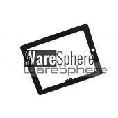 LCD Bezel Case with Glass Assembly for Apple iPad 3 iPad 4