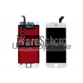 LCD Display and Touch Screen Digitizer Screen Lens for Iphone 6 White