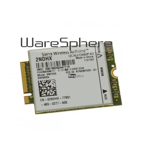 Wireless EM7355 4G LTE M 2 WWAN Card For Dell Venue 11 Pro 5130 2NDHX  02NDHX FD423504590111