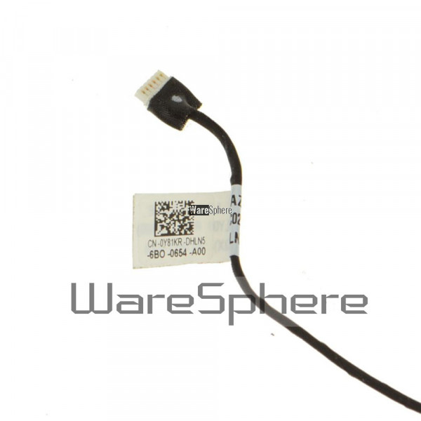 Original Status Indicator LED Circuit Board With Cable for Dell Latitude  7480 Y81KR 0Y81KR LS-E131P