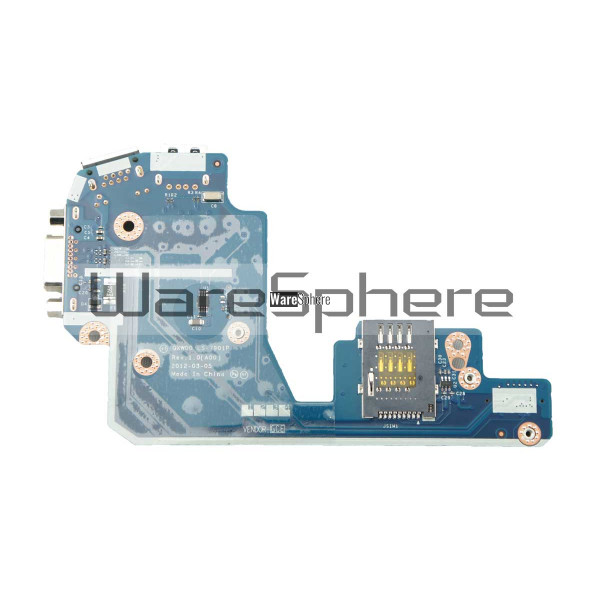 VGA / USB / RJ-45 Port IO Circuit Board For Dell Latitude E5430 4M3HJ  LS-7901P