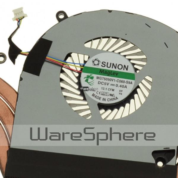 CPU Cooling Heatsink and Fan For Dell Alienware 17 R4 MW7X0 0MW7X0  AT1QB002ZC0